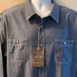 WEATHERPROOF Button Down Shirt. Size XX-Large